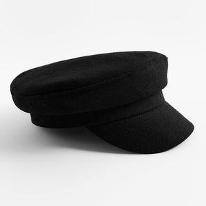 Wool Blend Skipper Cap size S